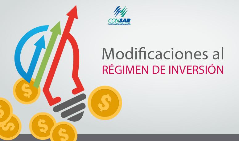 Modificaciones al Régimen de Inversión amplían opciones de inversión y diversificación para las AFORES.