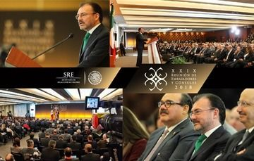 Foreign Secretary Luis Videgaray Inaugurates the 29th Meeting of Ambassadors and Consuls