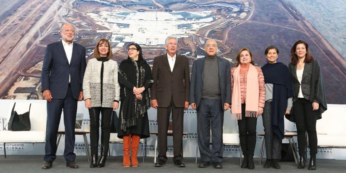 Destaca SFP acompañamiento en contrataciones públicas para construir el Nuevo Aeropuerto de la Ciudad de México