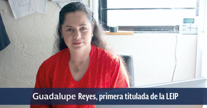 Guadalupe Reyes Vadillo es su oficina.