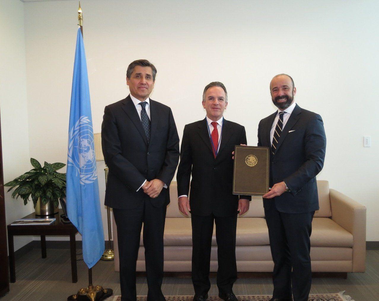 México ratificó hoy en la ONU el Tratado sobre la Prohibición de las Armas Nucleares