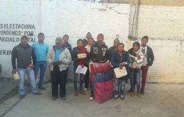 Artesanos del estado de Guerrero beneficiarios de Acopio de Artesanías