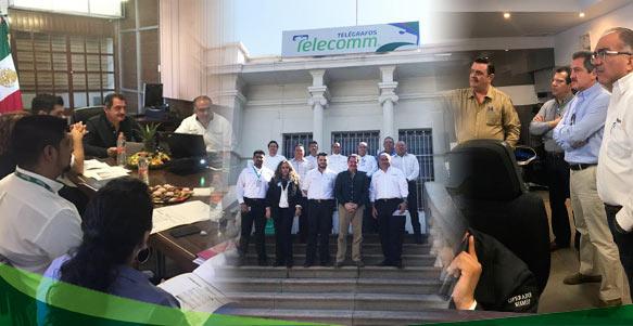 Director de Telecomm visita el Estado de Sinaloa.