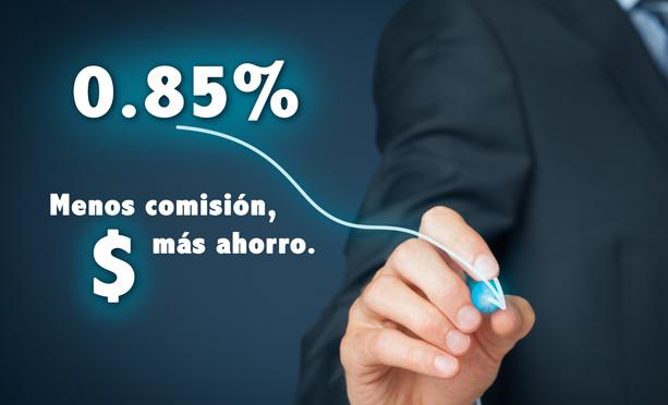 PENSIONISSSTE baja su comisión a 0.85%