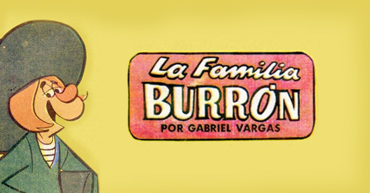 La familia Burrón por Gabriel Vargas