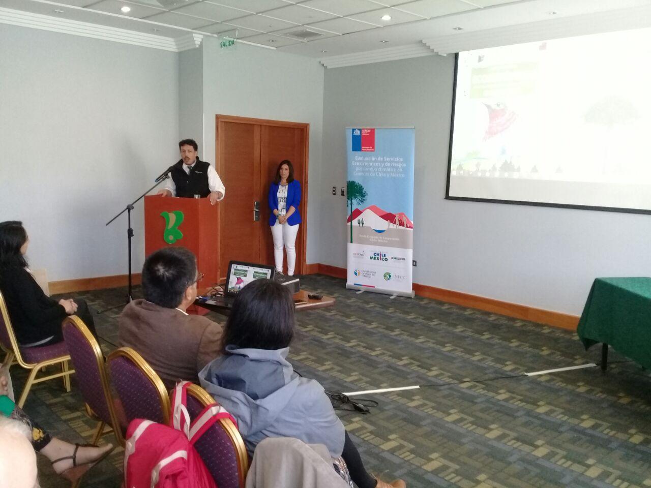 Visita del INECC a Chile para presentar los resultados del estudio realizado en el marco de la Cooperación Chile-México