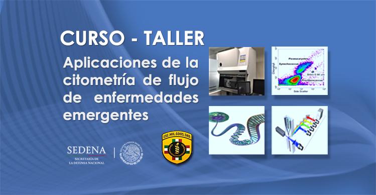 """Imágenes del Curso-Taller """"Aplicaciones de la Citometría de Flujo en Enfermedades Emergentes""""."""