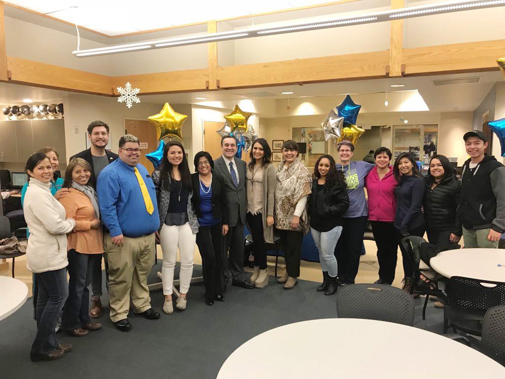 Los apoyos se entregaron a la plaza Comunitaria en el Salt Lake Community College (SLCC)