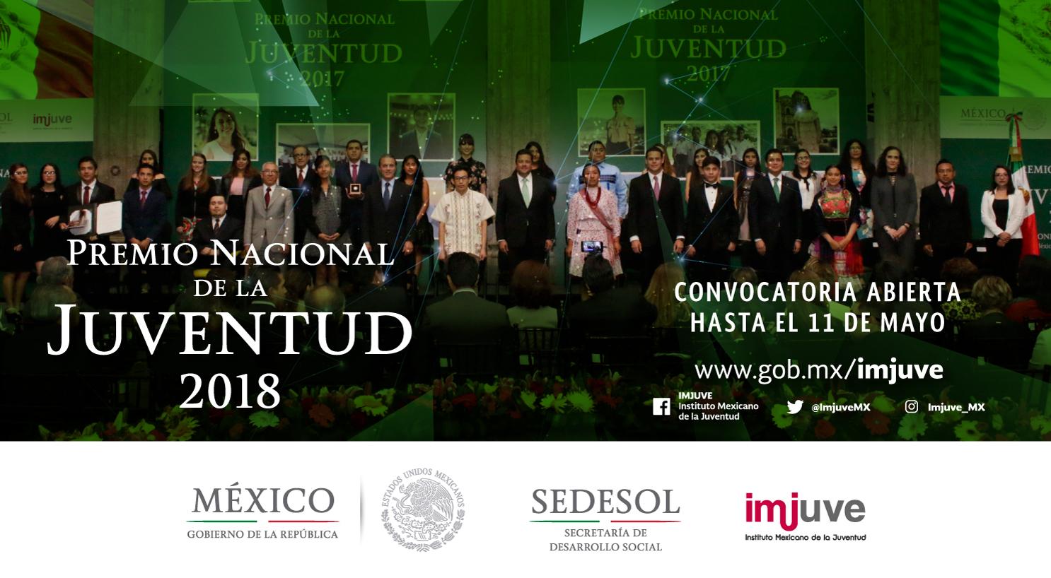 Premio Nacional de la Juventud 2018