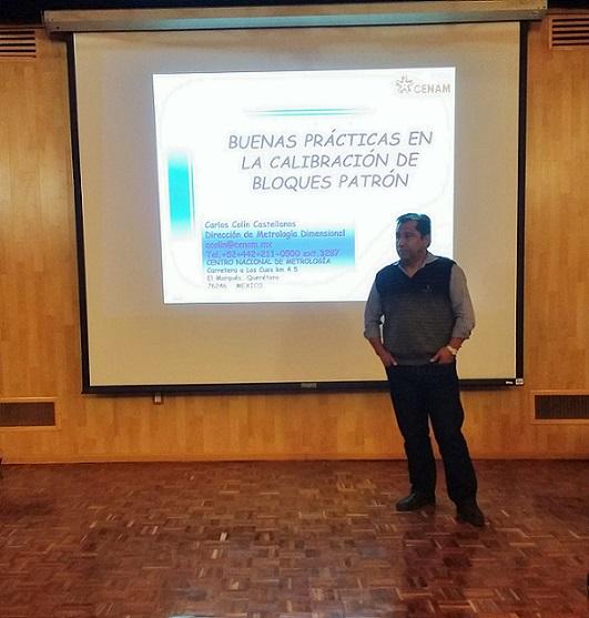 El taller fue realizado a iniciativa del personal de la Dirección de Metrología Dimensional (DMD) y acordado con la EMA para los organismos acreditados.