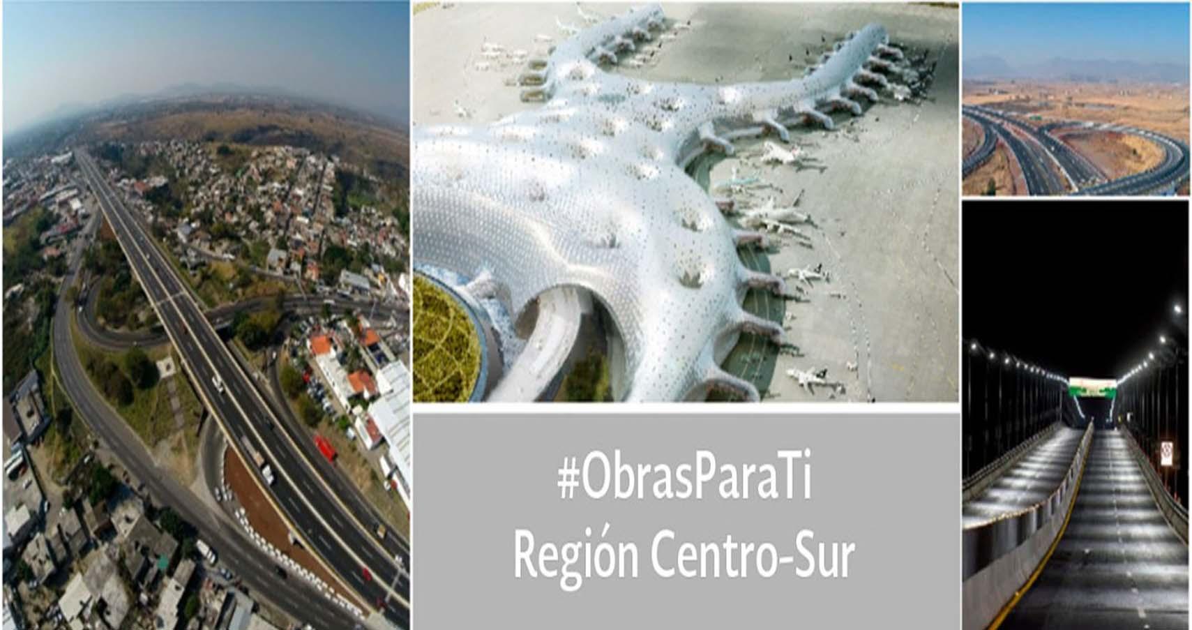 #ObrasParaTi Región Centro Sur