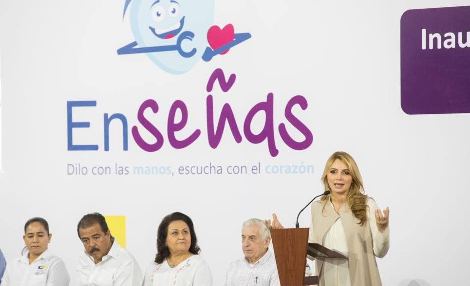 Inaugura Angélica Rivera de Peña innovador centro de atención para personas con discapacidad auditiva
