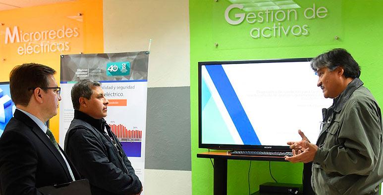 El Director de Tecnologías de ENDE conoció sobre tecnologías de medición desarrolladas en el Instituto, y vislumbró oportunidades para el Sector Eléctrico en Bolivia.