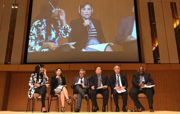 Sesión inaugural del Foro Urbano Mundial.