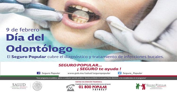 9 de febrero, Día del Odontólogo