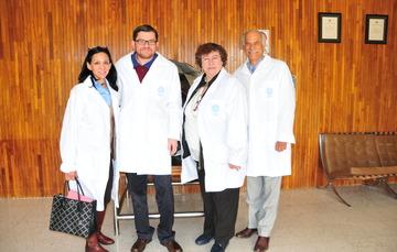 El doctor Dmitri Fujii Olechko, Director General del Consejo Mexiquense de Ciencia y Tecnología, visitó el ININ