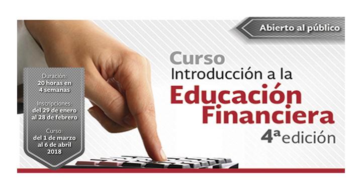 Curso Introducción a la Educación Financiera edición