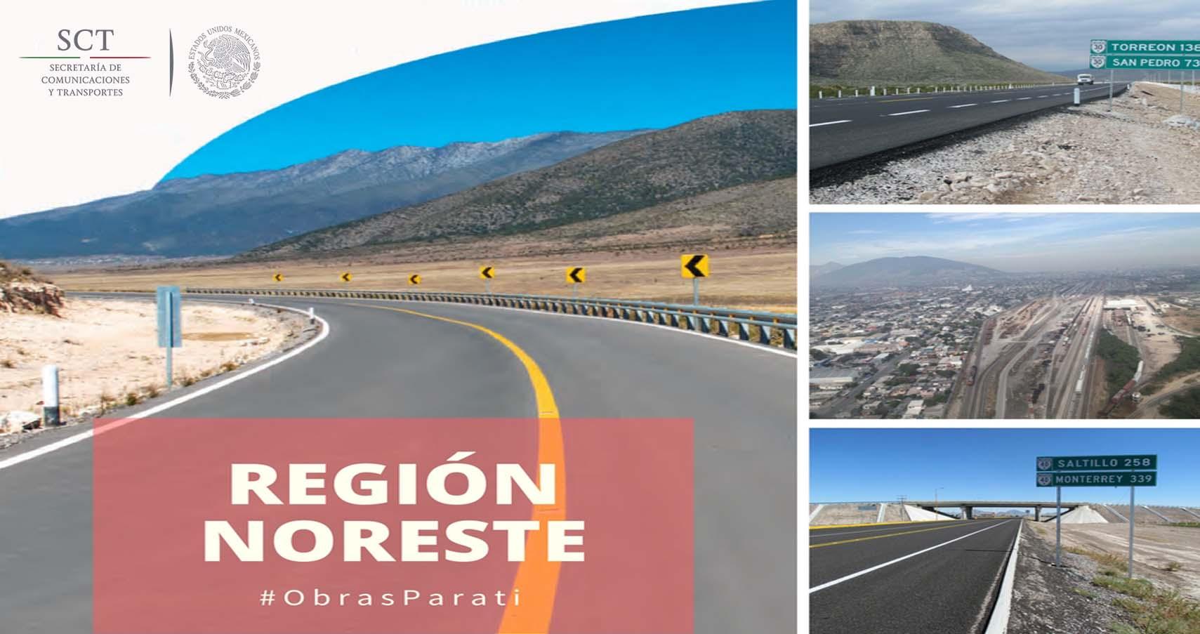 #ObrasParaTi | Región Noreste