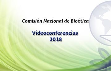 Ésta es la Sección de Principal del Portal y muestra una imagen con el título Videoconferencias CONBIOÉTICA 2018, con el tema Dolor y sufrimiento embrionario, a cargo de Carlo Valerio Bellieni, que se transmitirá a través de este sitio web