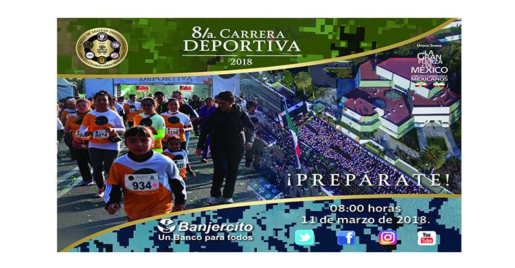 Imágenes de la 8/a. Carrera Deportiva.