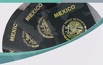 Imagen de la portada de varios pasaportes