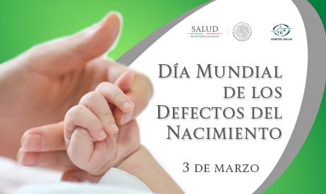 Día Mundial de los Defectos del Nacimiento