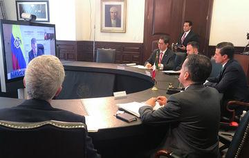 Los Mandatarios de Perú, Colombia y México reconocieron la labor que la Presidenta de Chile, Michelle Bachelet, hizo en favor de la AP durante su mandato, que concluye el próximo 11 de marzo.