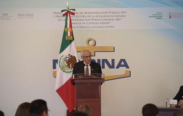 COMUNICADO 084. SENEAM RECIBE EL PREMIO NACIONAL DE ADMINISTRACIÓN PÚBLICA 2017