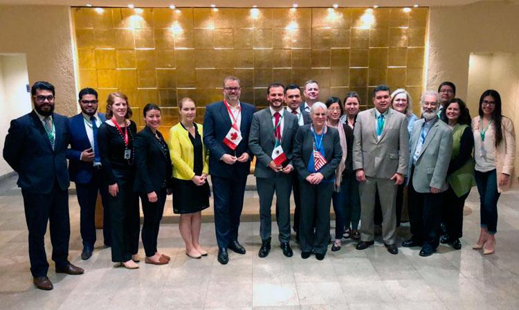 Como resultado de siete rondas de negociación para la modernización del TLCAN, los expertos de los tres países completaron la integración de un nuevo capítulo sobre MSF que refuerza las disposiciones del TLCAN original.