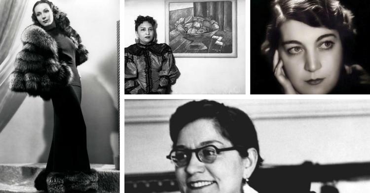 Mujeres en la Rotonda de las Personas Ilustres
