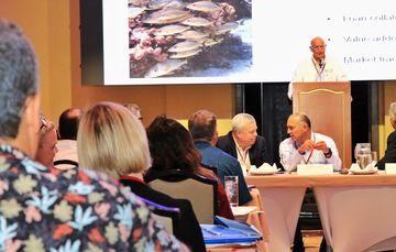 Junto con el Secretario de SAGARPA y directivos del WWF y FMCN, Mario Aguilar Sánchez participa en mesa de trabajo sobre Innovación Financiera para la Pesca Sostenible, en el marco del World Ocean Summit