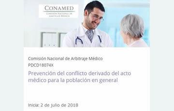 Prevención del conflicto derivado del acto médico para el público en general