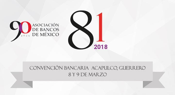 CNBV participa en la 81 Convención Bancaria
