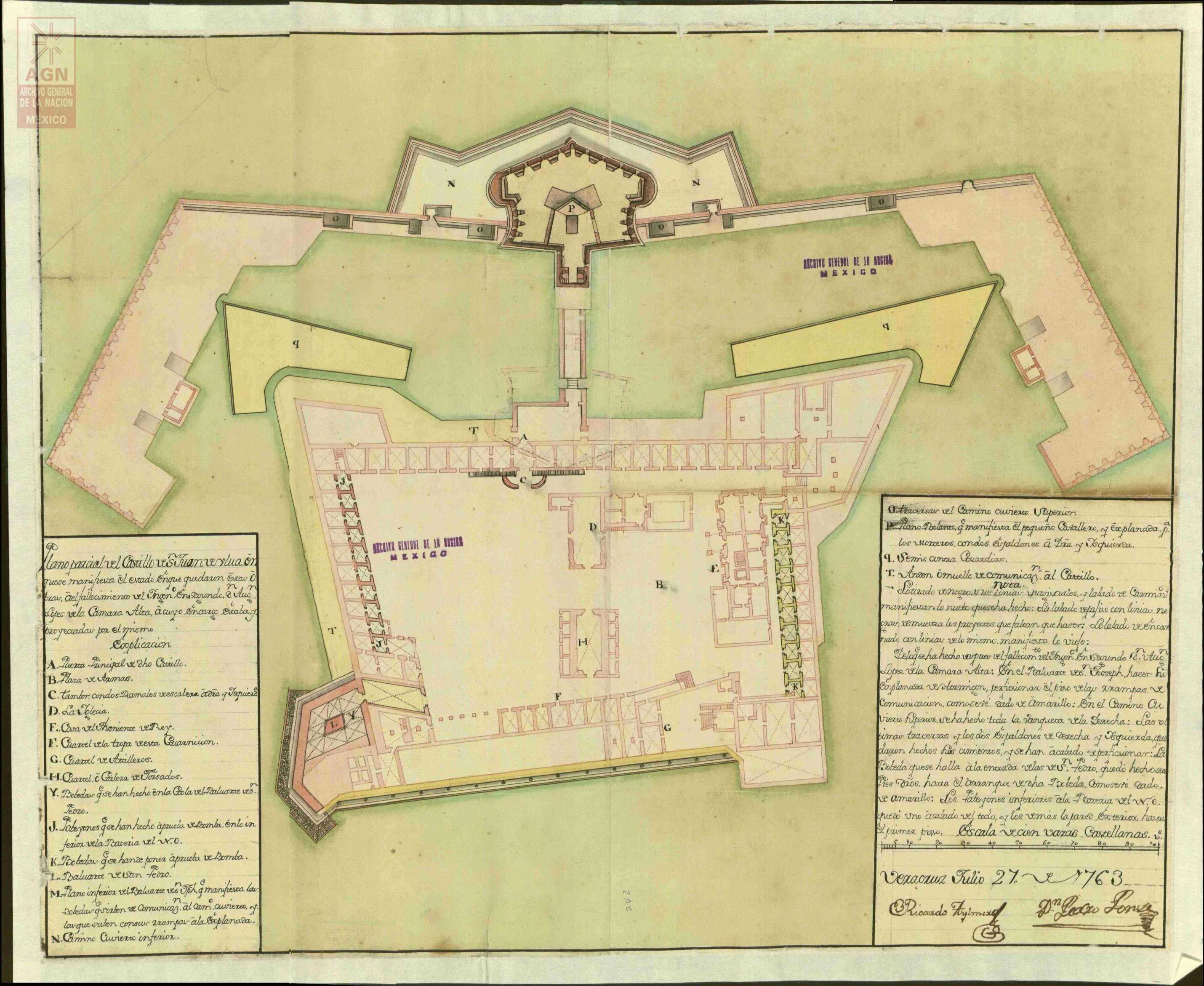 Después de un día intenso de combate la fortaleza de San Juan de Ulúa fue capturada por los franceses