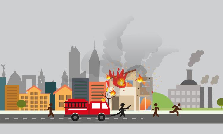 Incendios urbanos