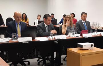 Integrantes de la Comisión Ejecutiva
