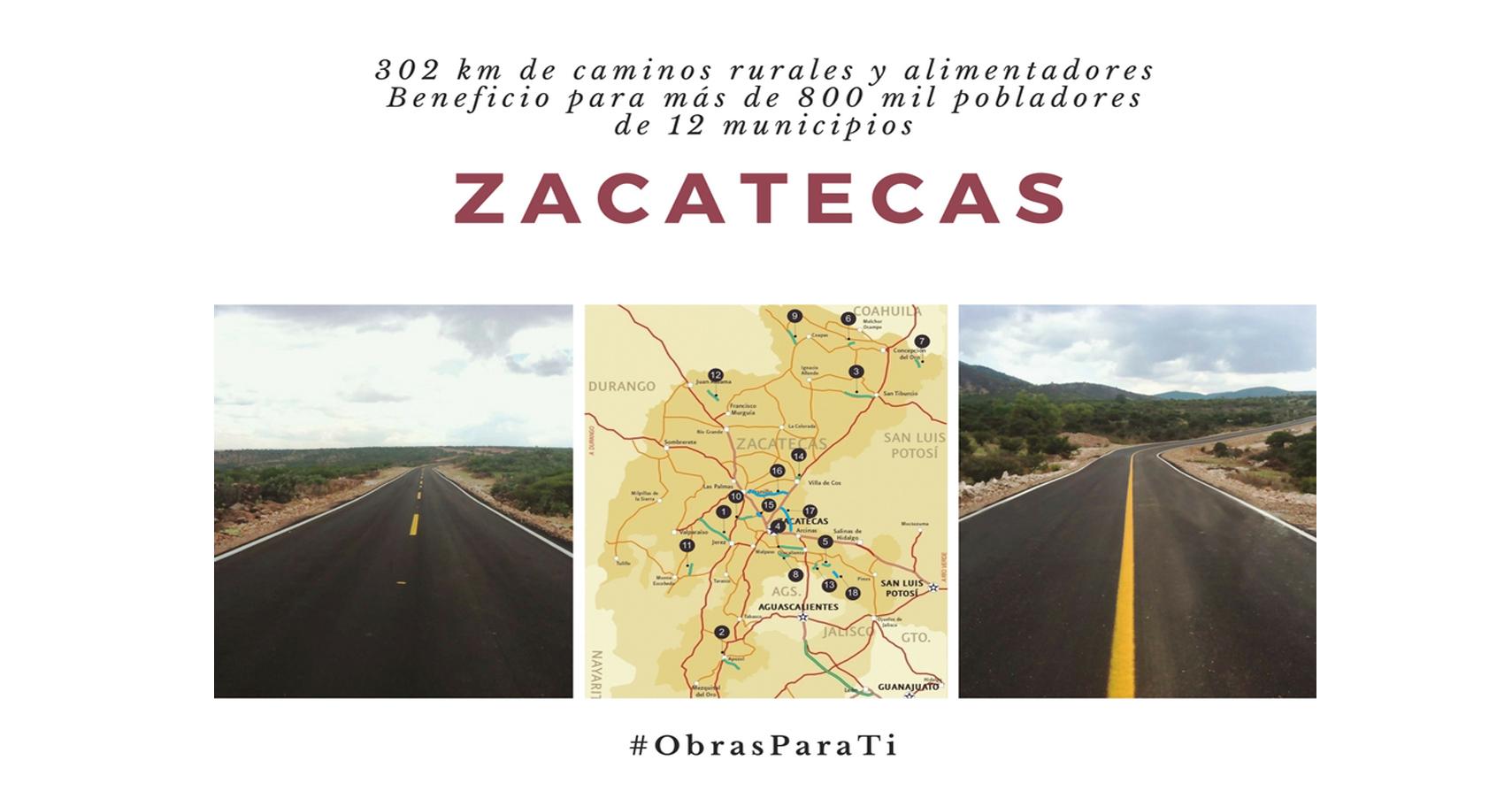 #ObrasParaTi | Infraestructura para Zacatecas