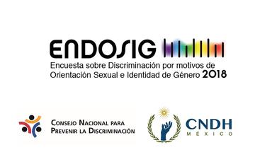 Encuesta Nacional sobre Discriminación por Motivos de Orientación Sexual e Identidad de Género 2018