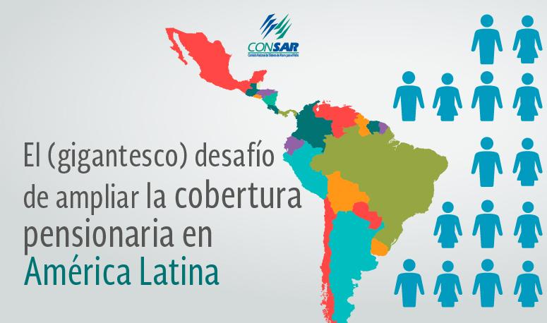 El (gigantesco) desafío de ampliar la cobertura pensionaria en América Latina: ¿qué hacer para incrementarla?