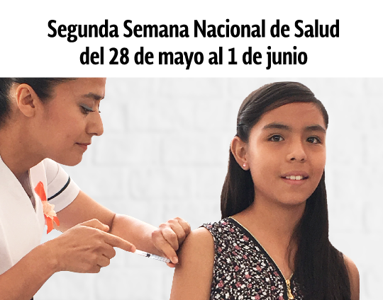 Segunda Semana Nacional de Salud.