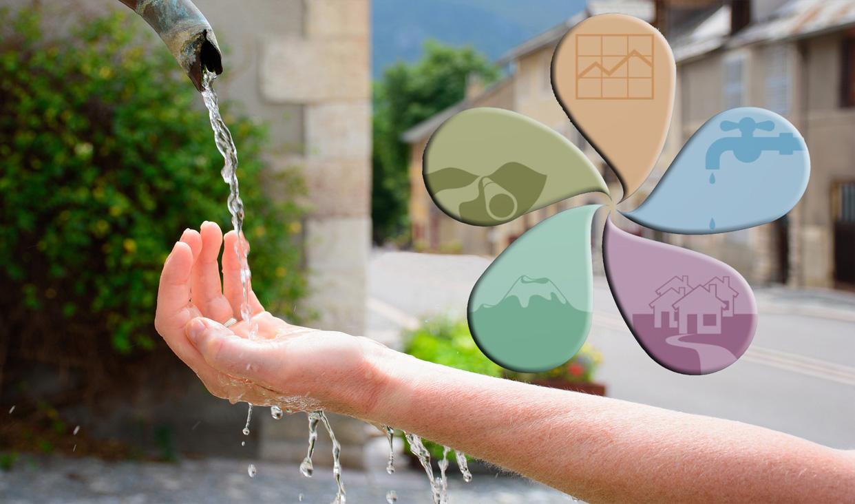 """Este Panel apoya la puesta en marcha del Objetivo de Desarrollo Sostenible número 6: """"Gestionar la disponibilidad de agua y su gestión sostenible y el saneamiento para todos""""."""