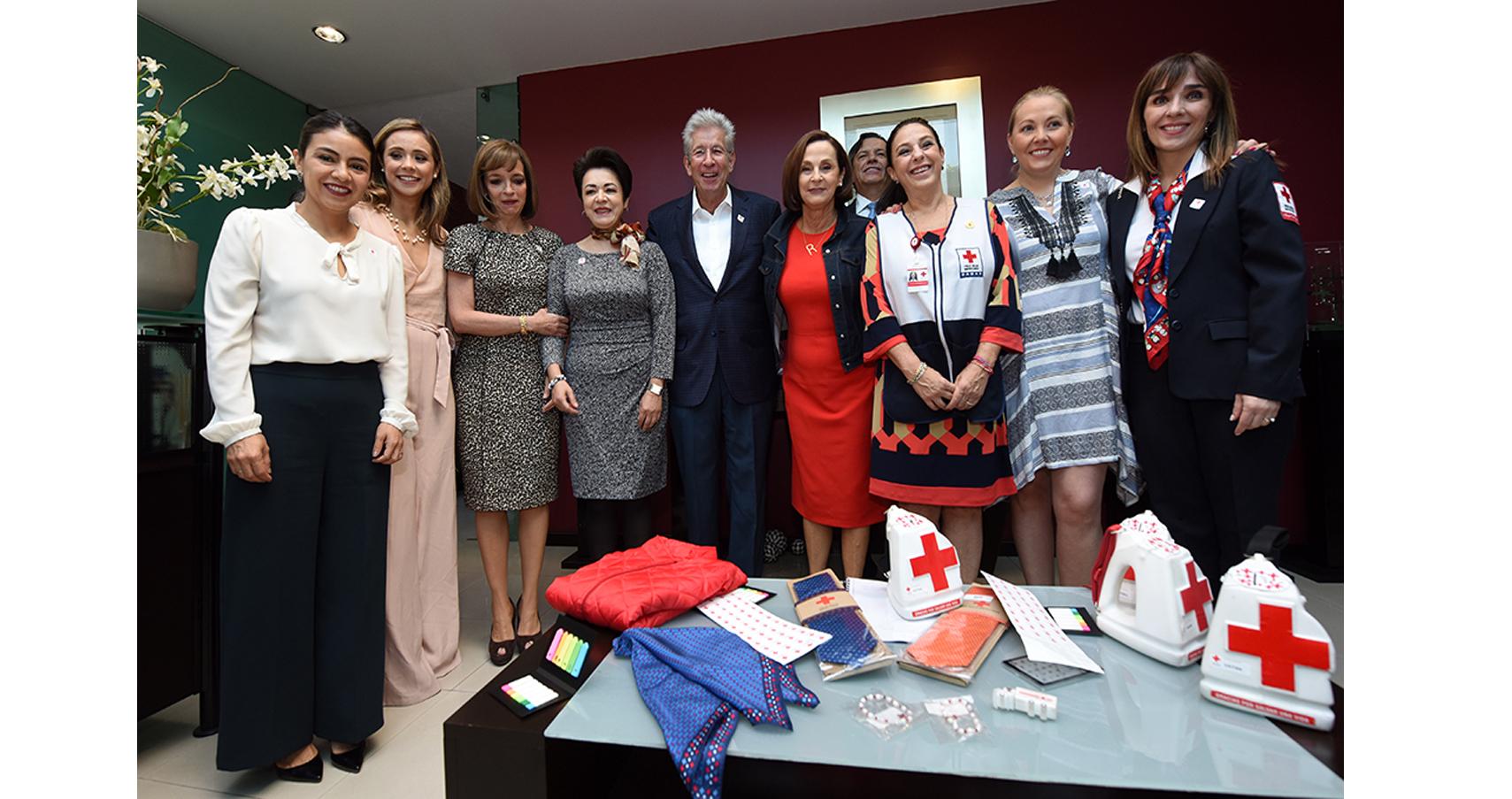 Impulso a Colecta Nacional 2018 de la Cruz Roja Mexicana en SCT