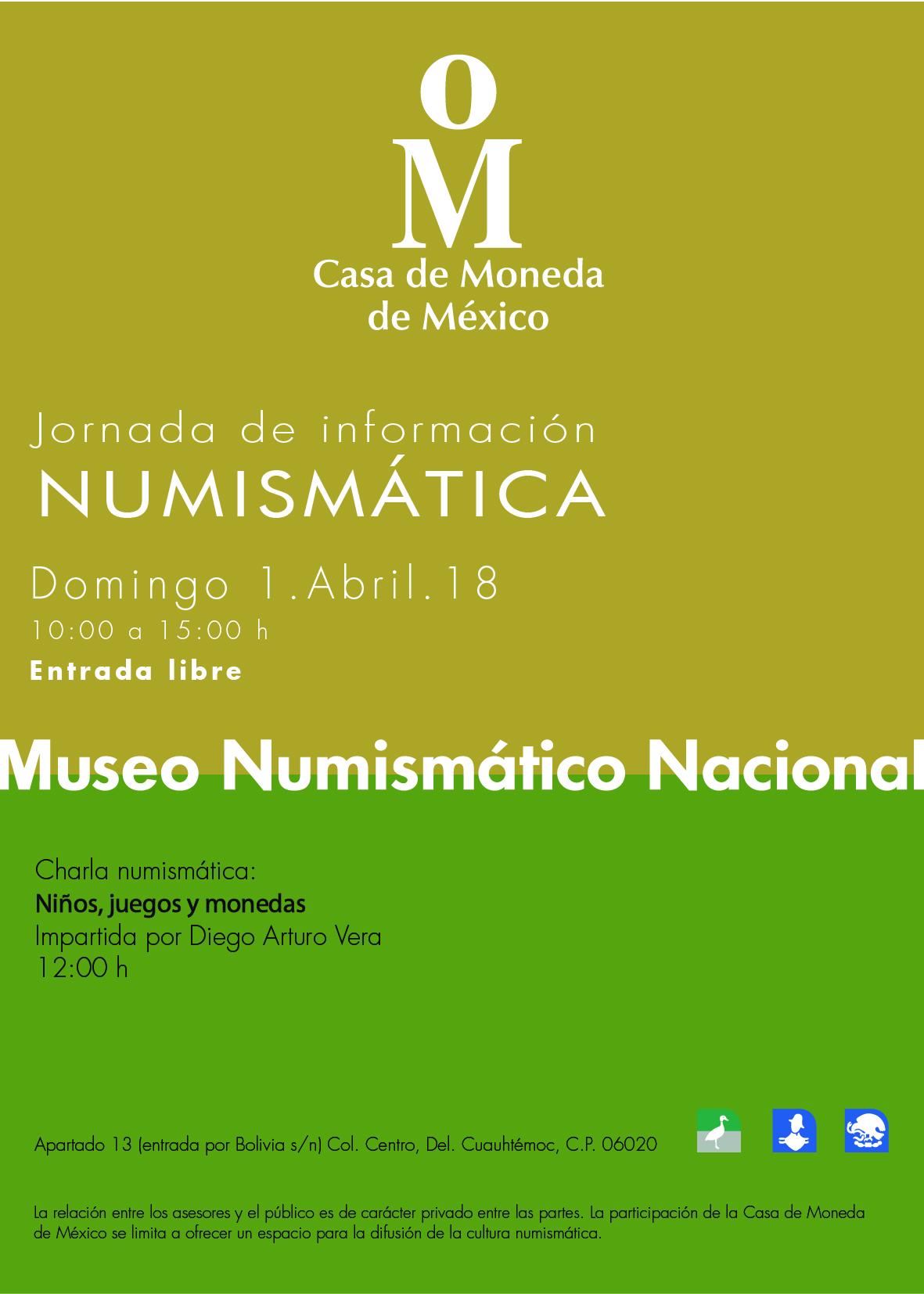 Jornada de Información Numismática de abril