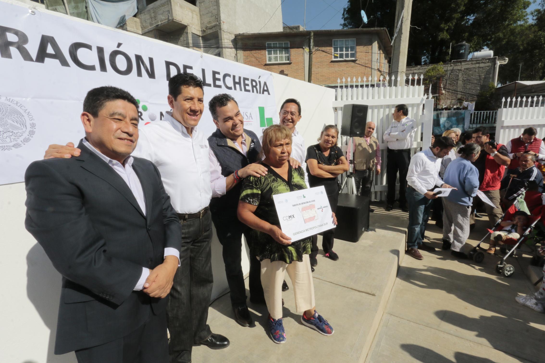 Inaugura Liconsa la lechería 671 en la Zona Metropolitana