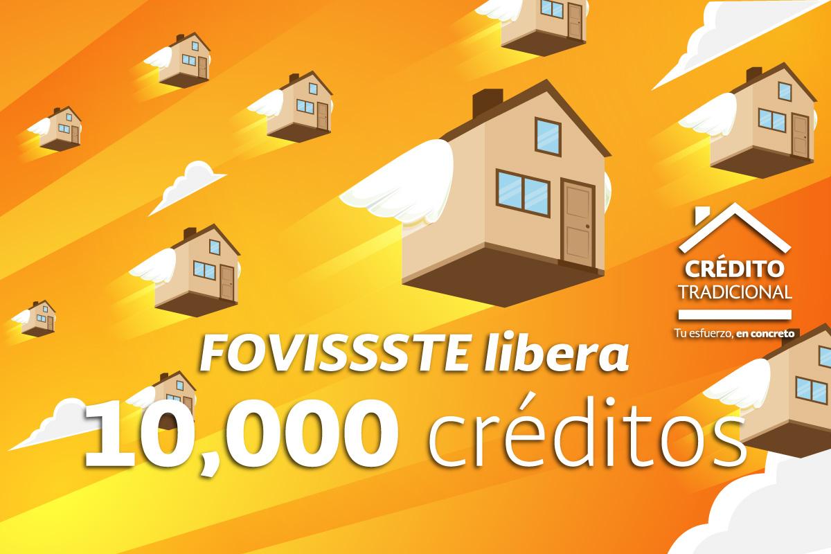 Aprueba FOVISSSTE liberación de 10 créditos Tradicionales del Proceso 2018