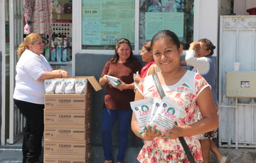 Liconsa lleva leche fortificada a más de 214 mil guerrerenses