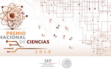 Premio Nacional de las Ciencias 2018.