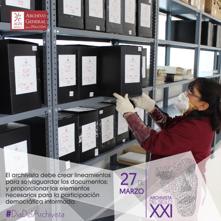 México celebra el Día del  Archivista