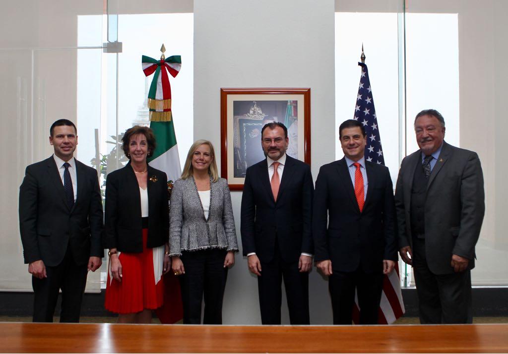 Firman México y EUA instrumentos de cooperación en beneficio de la economía en ambos lados de la frontera