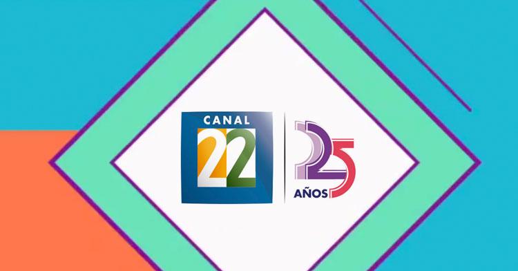 Canal 22, el Canal Cultural de México cumple 25 años